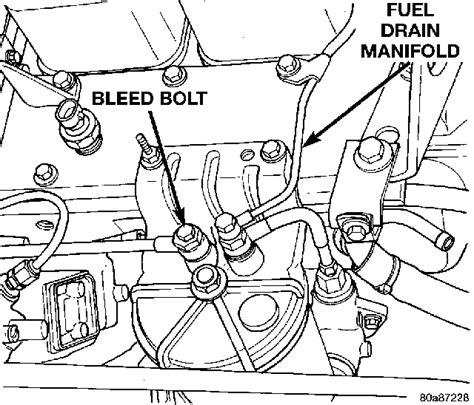 12 valve cummins fuel system diagram just replaced fuel filter on 1998 dodge cummins 12 valve