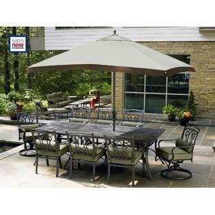 Hadley Bronze 10 Piece Patio Set: Improve Your Outdoor