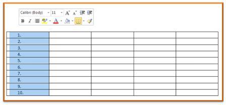 membuat halaman word urut trik cepat membuat nomor urut di ms word multi contents