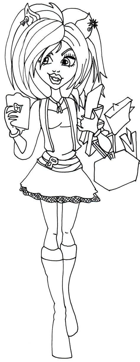 monster high sweet screams coloring pages free printable monster high coloring pages january 2014