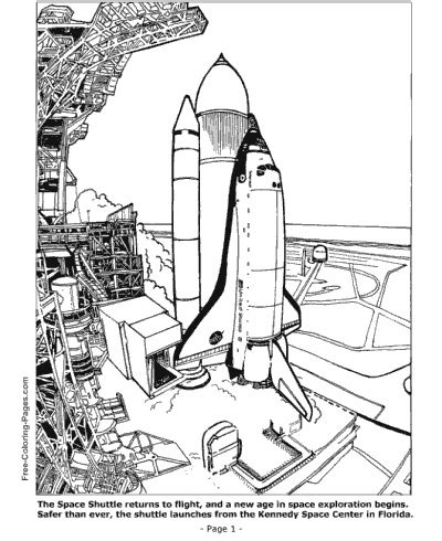 non printable space html space coloring pages space shuttle