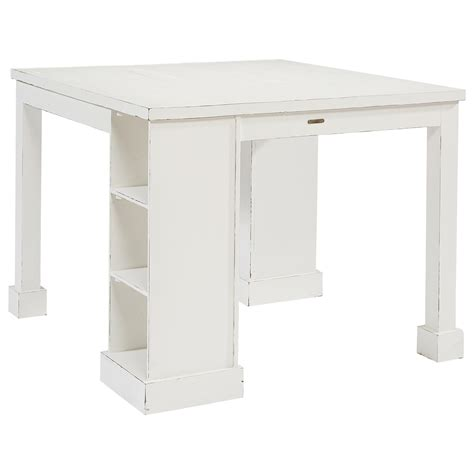 craft table with storage magnolia home by joanna gaines farmhouse craft table with