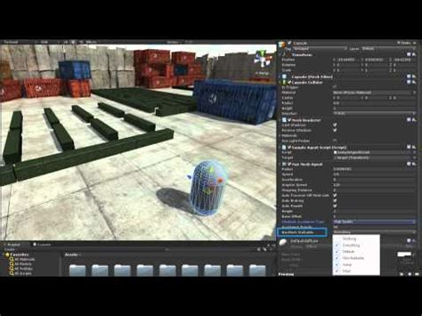 unity tutorial navmesh unity3d tutorial part 5 enemy pathfinding and navmesh doovi