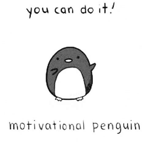 motivational penguin