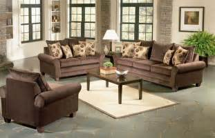 Furniture Set For Living Room Viva Chocolate Living Room Set Sofas