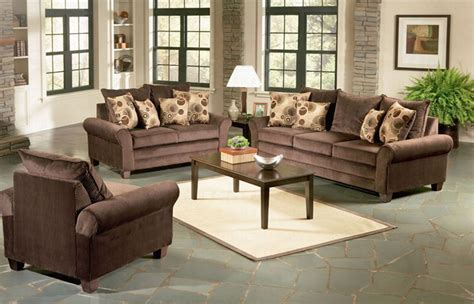 Living Room Sets Viva Chocolate Living Room Set Sofas