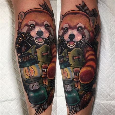 red panda tattoo meaning 42 powerful bear tattoo ideas with meaning