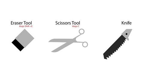 illustrator tutorial knife nuevo tutorial de illustrator cc 2017 eraser tool