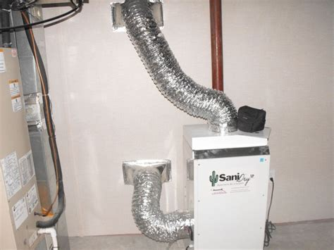 a sanidry basement air system can be installed in the