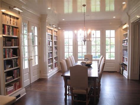 Dining Room Bookshelves by Built In Bookcases Transitional Den Library Office