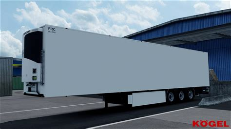 trailer kogel cool maxx   ets euro truck