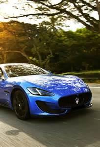 Blue Maserati Granturismo Exquisite Blue Maserati Gran Turismo Cars Motorcycles
