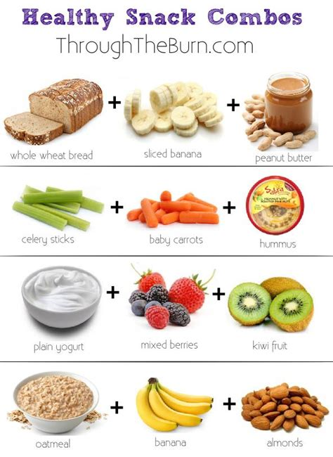 healthy snacks for healthy snack combos