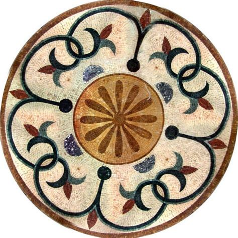 badezimmerfliesen bodenmuster md098 marble mosaic medallion tile mosaic table