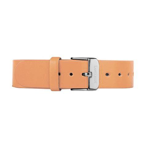 light orange leather buckle gold lanccelot original