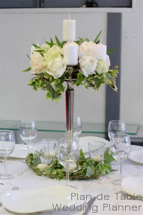 chandelier fleur pour centre de table de mariage wedding