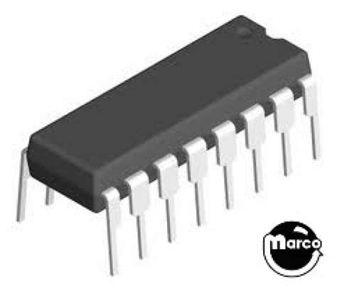 Mc14049bcp ic 16 pin dip 4049 hex buffer inverter mc14049 marco pinball parts