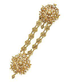 Kebaya Diamont Strait a set of thai peranakan jewellery with quot krosang