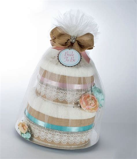 bridal shower towel cake decorations to be towel cake country rustic floral design bridal shower gift or centerpiece on etsy