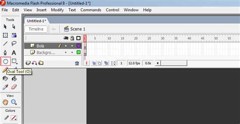 cara membuat video animasi dengan macromedia flash cara membuat animasi bola berjalan dengan menggunakan