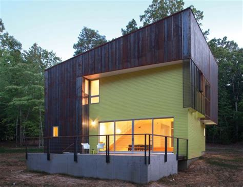 modern home design north carolina a simple modern home that perfectly integrates into the