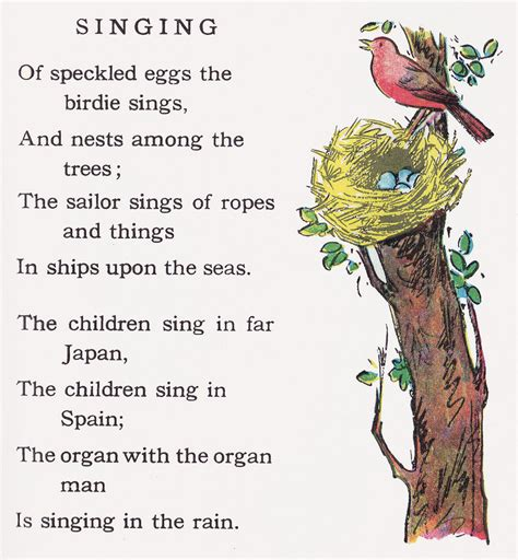 robert louis stevenson poems the swing singing robert louis stevenson poetry and poets