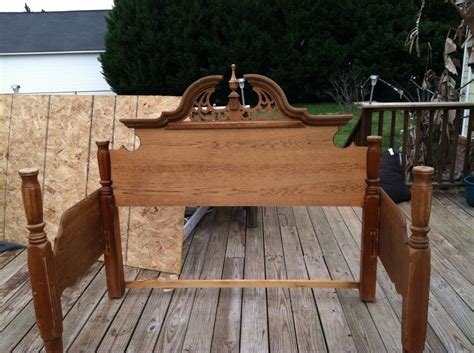 benches made from old beds hometalk bed frame benches donna shipley richie s