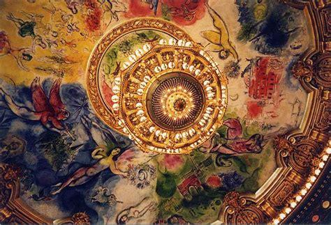 Plafond Chagall by Chagal Et Le Plafond Du Th 233 226 Tre De L Op 233 Ra Garnier 224