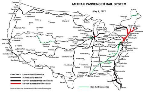 amtrak rail map usa passenger rail you didn t ask but