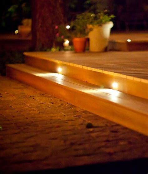 Led Stair Lights Outdoor Led Recessed Stair Light 4 Pack Indoor Outdoor Dekor 174 Lighting