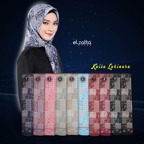 Segiempat Motif jilbab segiempat elzatta kaila lakinara elzatta jual jilbab elzatta katalog terbaru