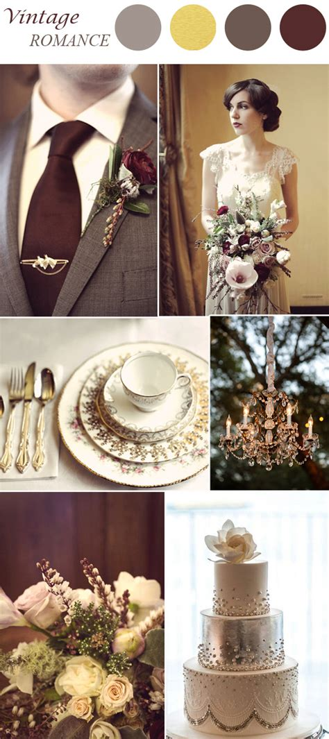 wedding color ideas top 8 trends for 2015 vintage wedding ideas
