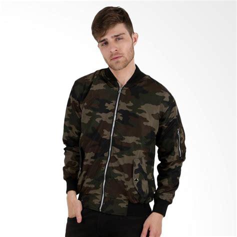Jaket Bomber Motif jual elfs shop reverseable bomber motif army am jaket coklat tua harga