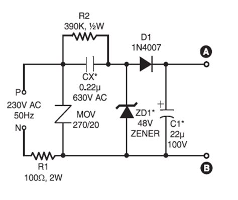 Luxeon Plat 5 X 3 Watt 220v ac ultra bright leds l circuit schematic diagram