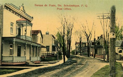 illustrated post card