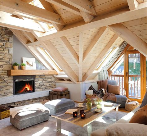 mountain home interiors cozy mountain cottage the aran valley spain interior