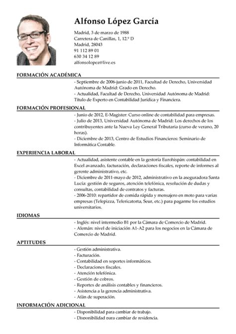 Modelo Curriculum Director Financiero Curriculum Vitae De Finanzas Financiero Design Bild