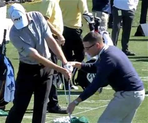 aj bonar golf swing hand release actions through the impact zone