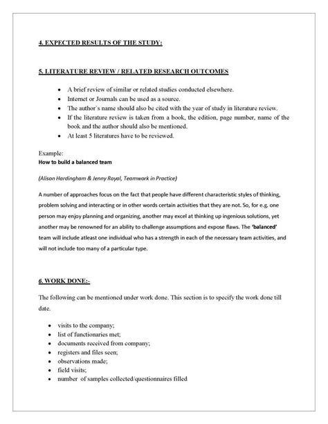 Synopsis Format For Mba Hr Project by Synopsis Format For Mba Project Pdf 2018 2019 Studychacha