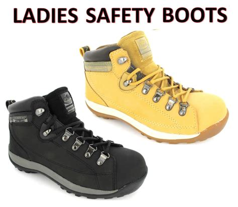 womens safety work boots trainers groundwork