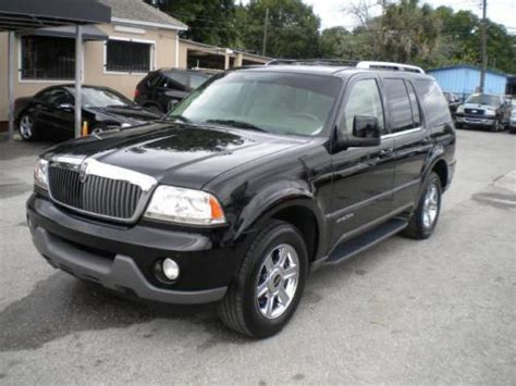 auto air conditioning service 2004 lincoln aviator seat position control buy used 2004 lincoln aviator ultimate in 5702 n florida ave ta florida united states for