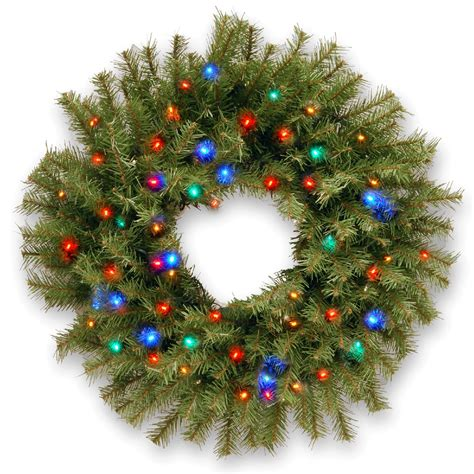battery operated christmas wreath sears com