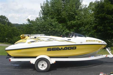 sea doo bombardier boat 1999 seadoo speedster sk bombardier jet boat for sale in
