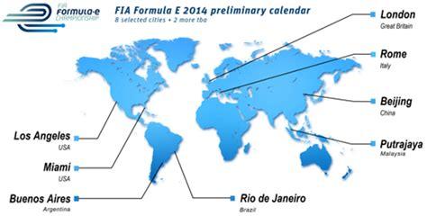 Calendrier E Formule Formule E Des Monoplaces 233 Lectriques D 232 S 2014