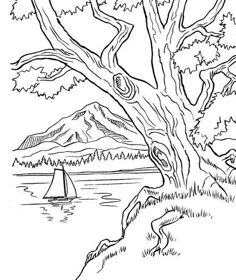 imagenes de paisajes para xolorear dibujos de paisajes nevados para colorear cerca con
