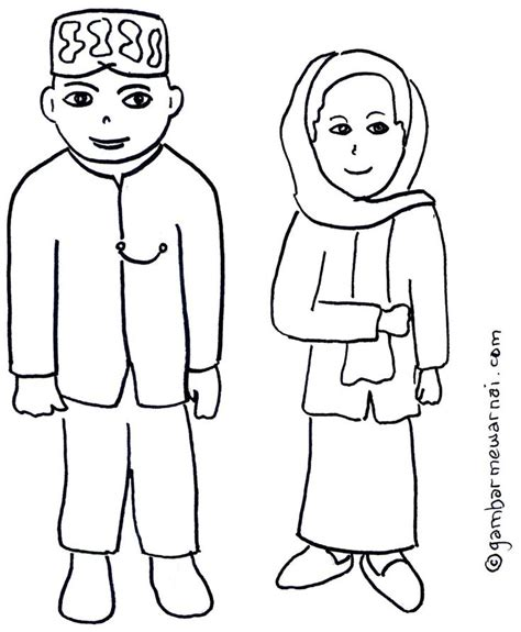 baju adat colouring pages gambar mewarnai pakaian adat betawi projects to try