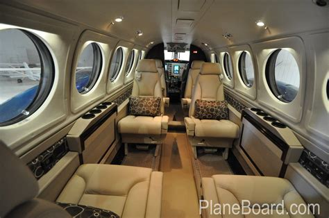 Interior Air by 1997 Beechcraft King Air B200 For Sale N204jt Planeboard