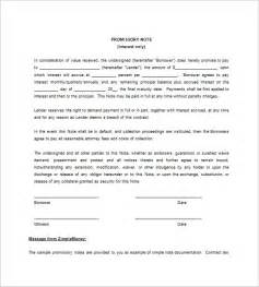 simple promissory note template free blank promissory note templates 12 free word excel