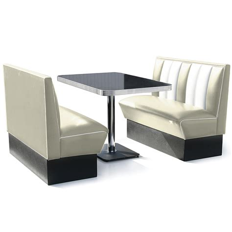 booth dining set white drinkstuff
