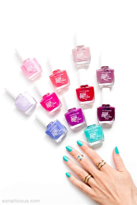 Maybelline Gel maybelline superstay gel nail colour does it last 7 days
